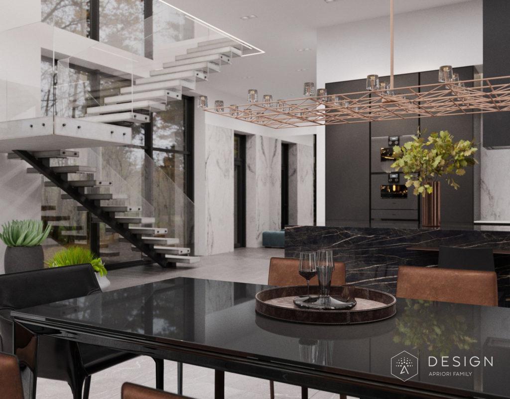 Дизайн интерьера дома в г. Задонск