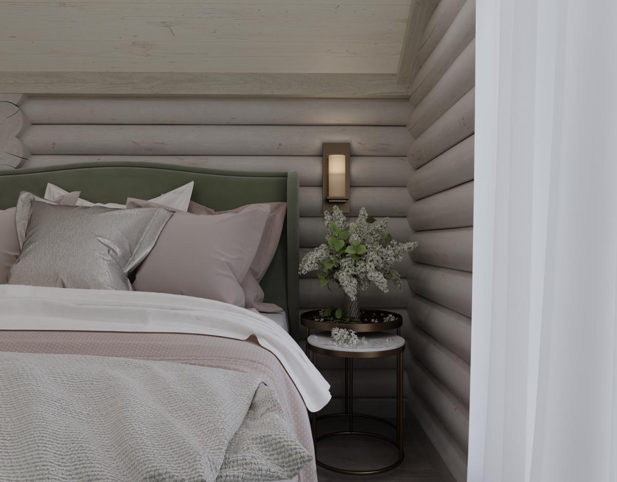 Интерьер деревянного дома: дизайн и отделка