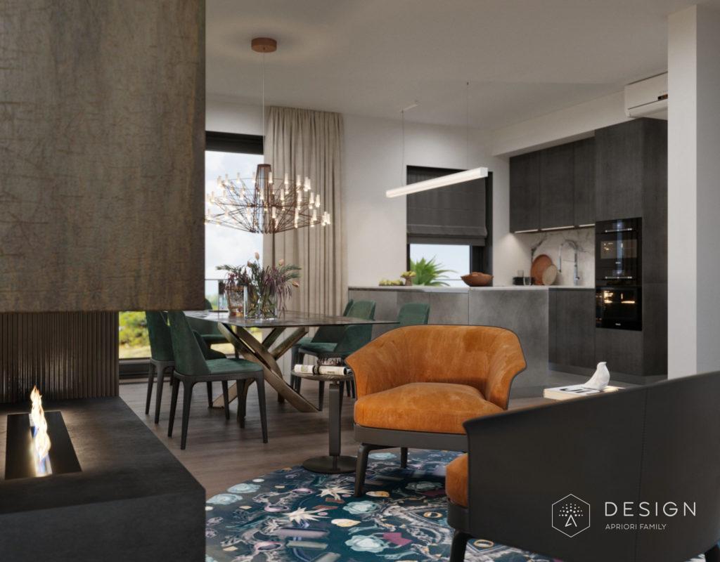 Дизайн интерьера апартаментов в Европе