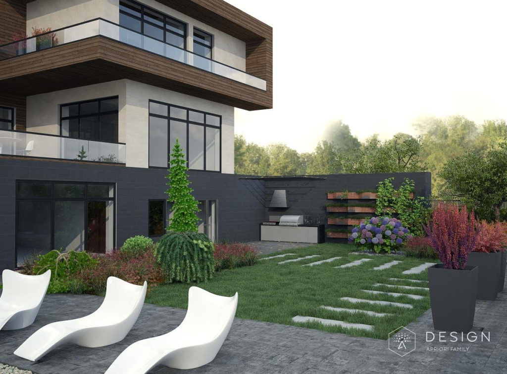 Архитектурный проект дома в Малиновке