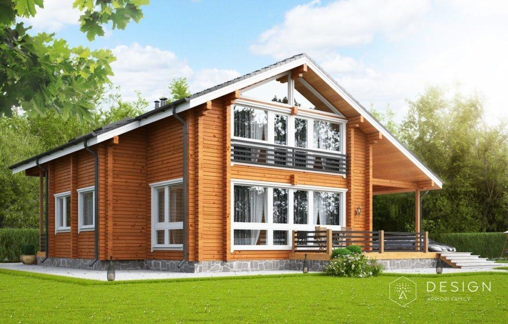 Проектирование деревянных домов: брус и оцилиндрованное бревно