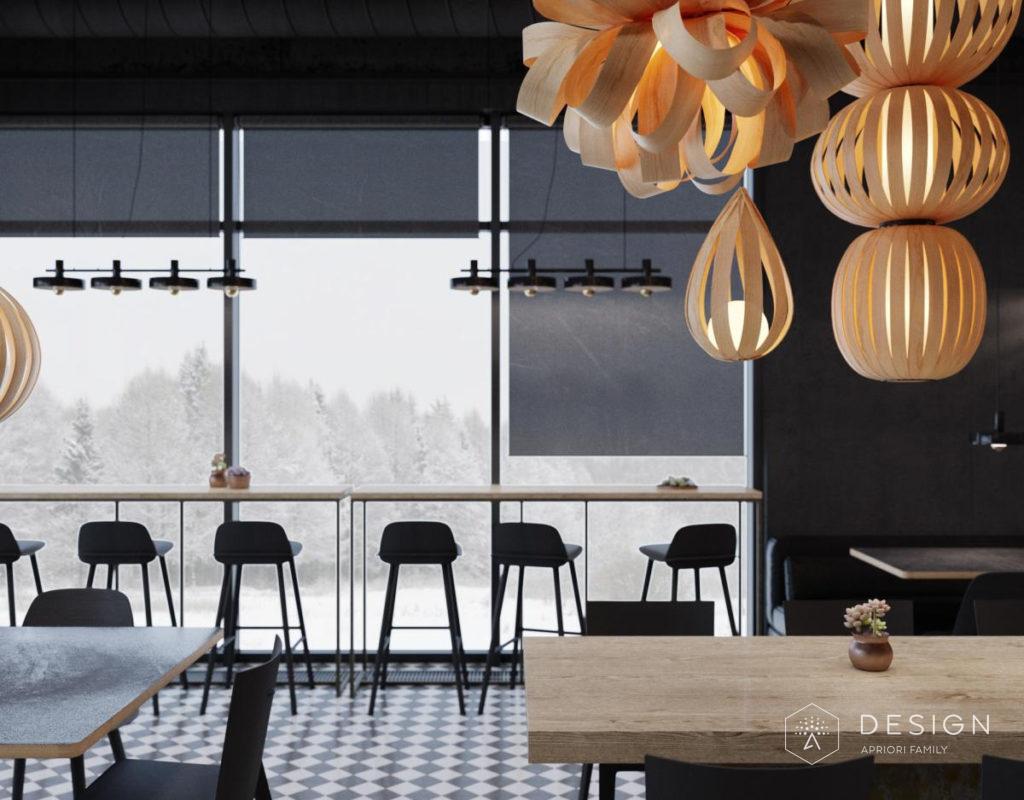 Как разработать дизайн кофейни?