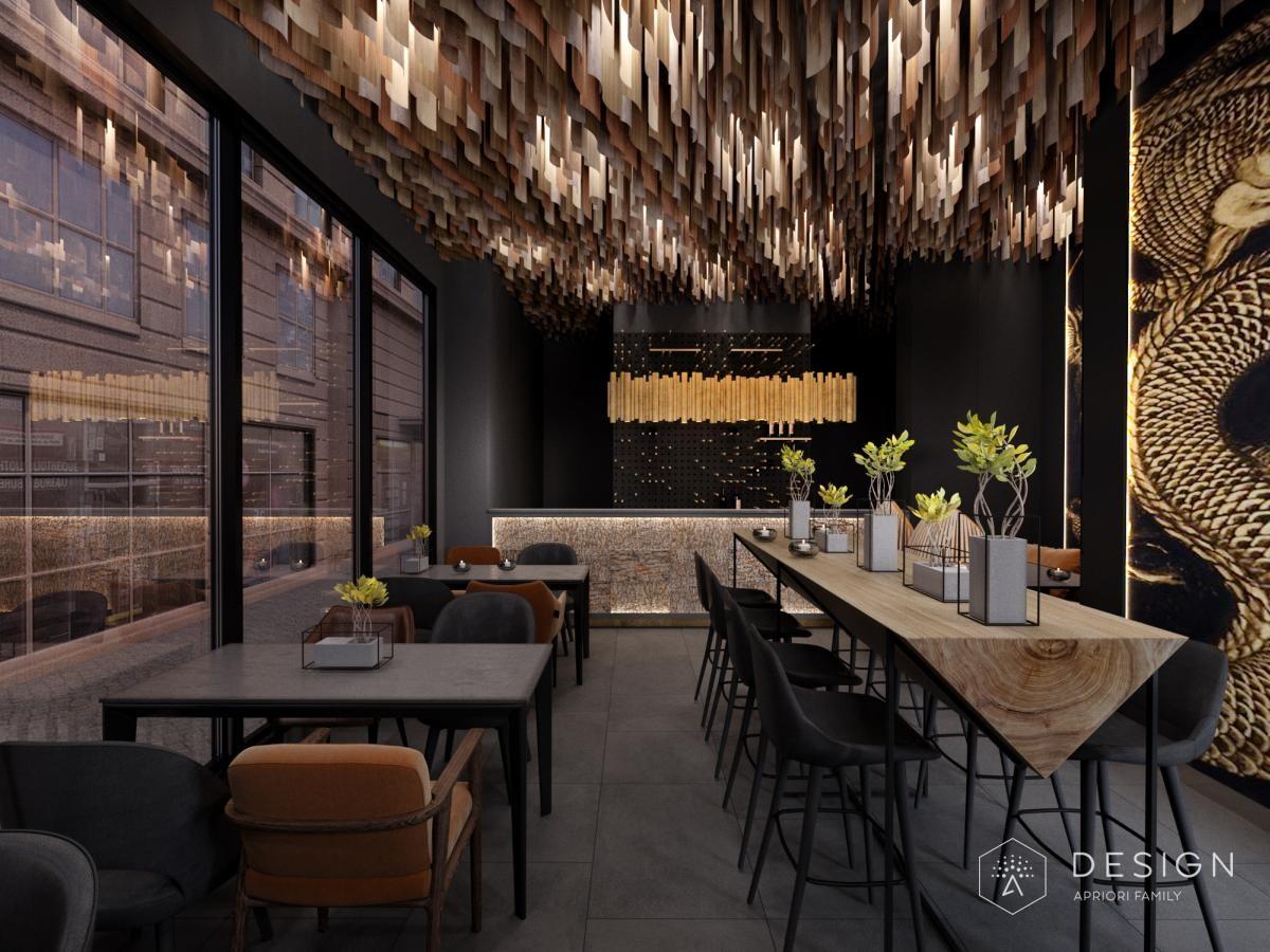 Дизайн суши-бара
