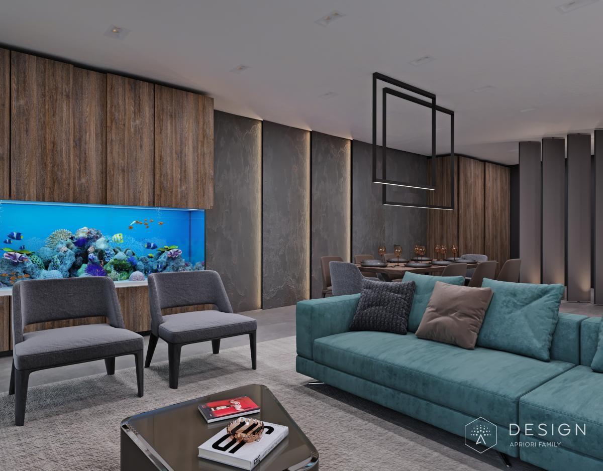 Дизайн интерьера квартиры в Петровском пассаже