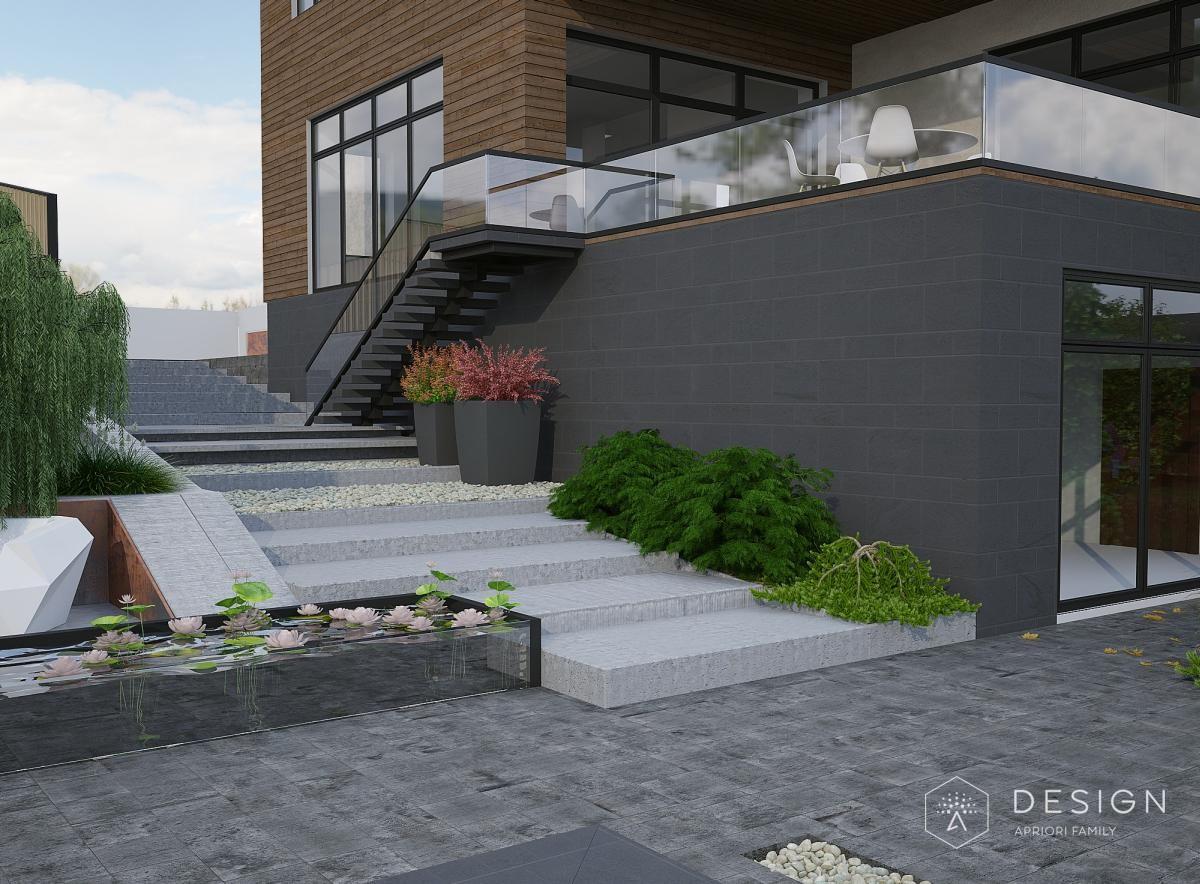 дизайн дома в Малиновке