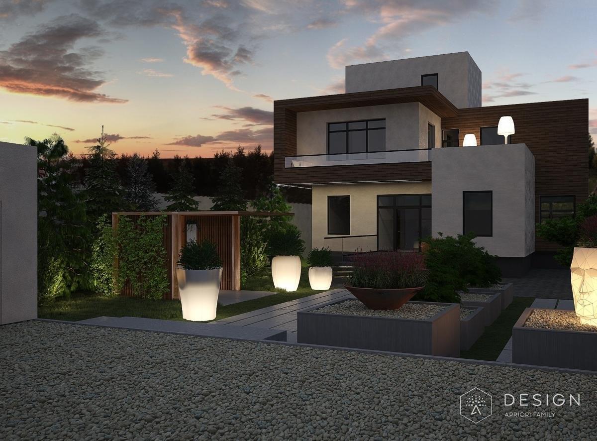Архитектурный проект дома в п.Ямное
