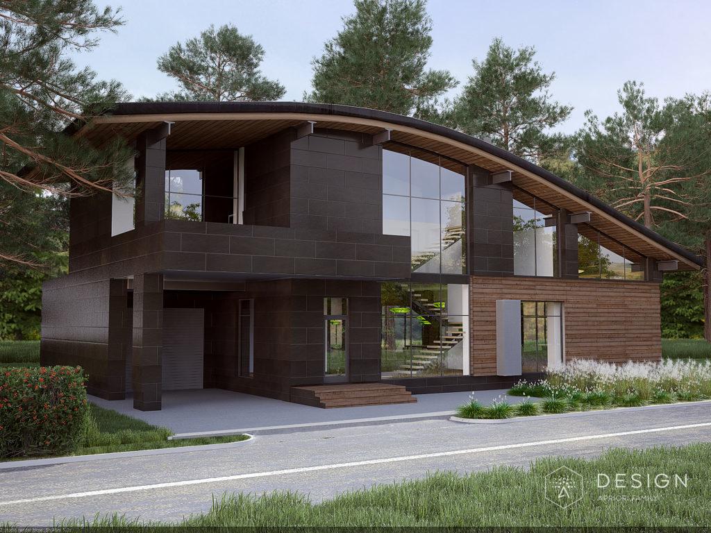 Архитектурный проект дома в г.Задонск