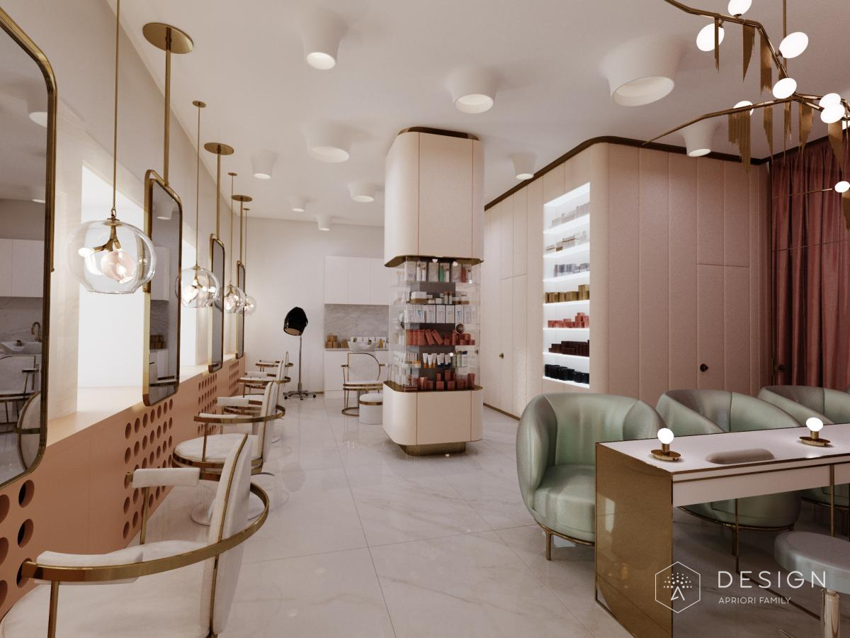Дизайн салона красоты от APRIORI DESIGN