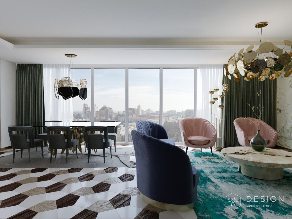 Дизайн интерьера квартиры в ЖК Галерея Чижова (второй вариант)