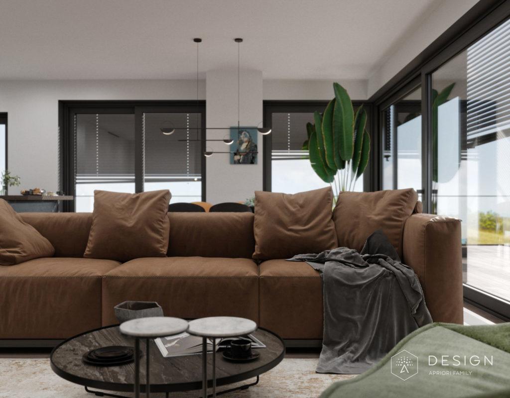 Дизайн интерьера квартиры в Праге