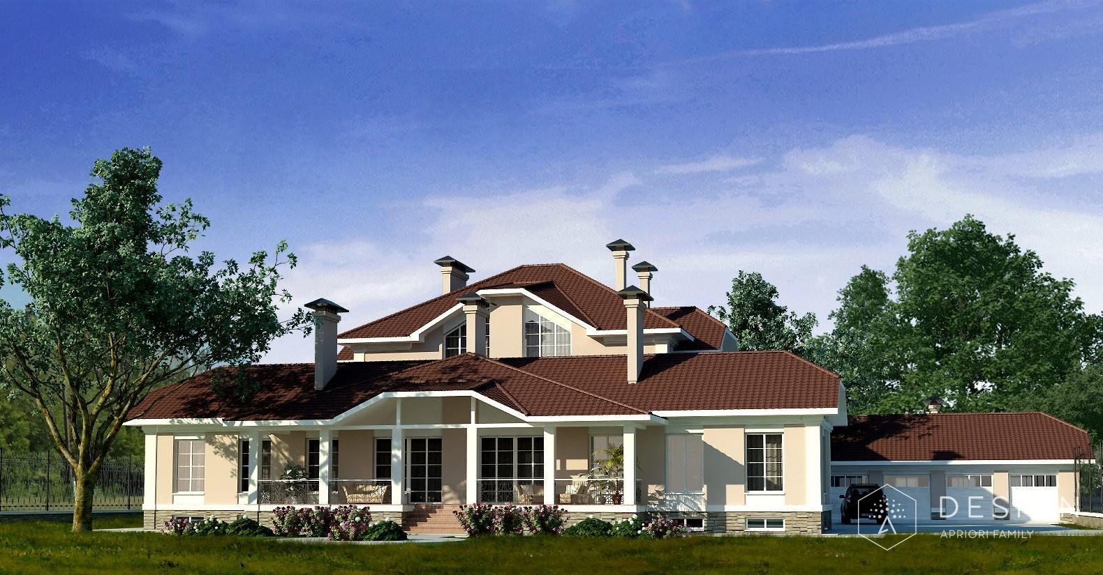 Архитектурный проект дома в Рамонском районе