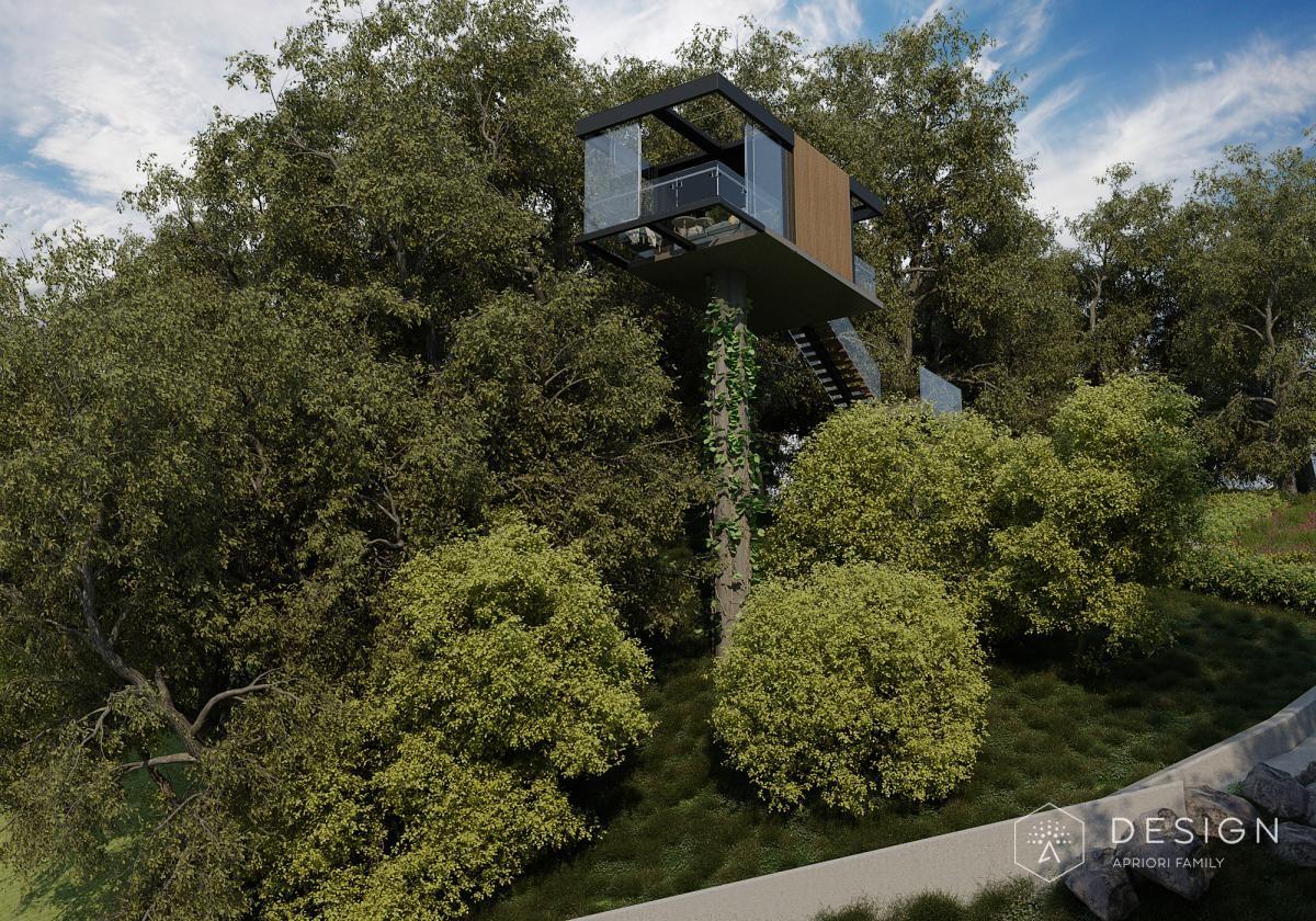 Архитектурный проект дома в п.Сенное