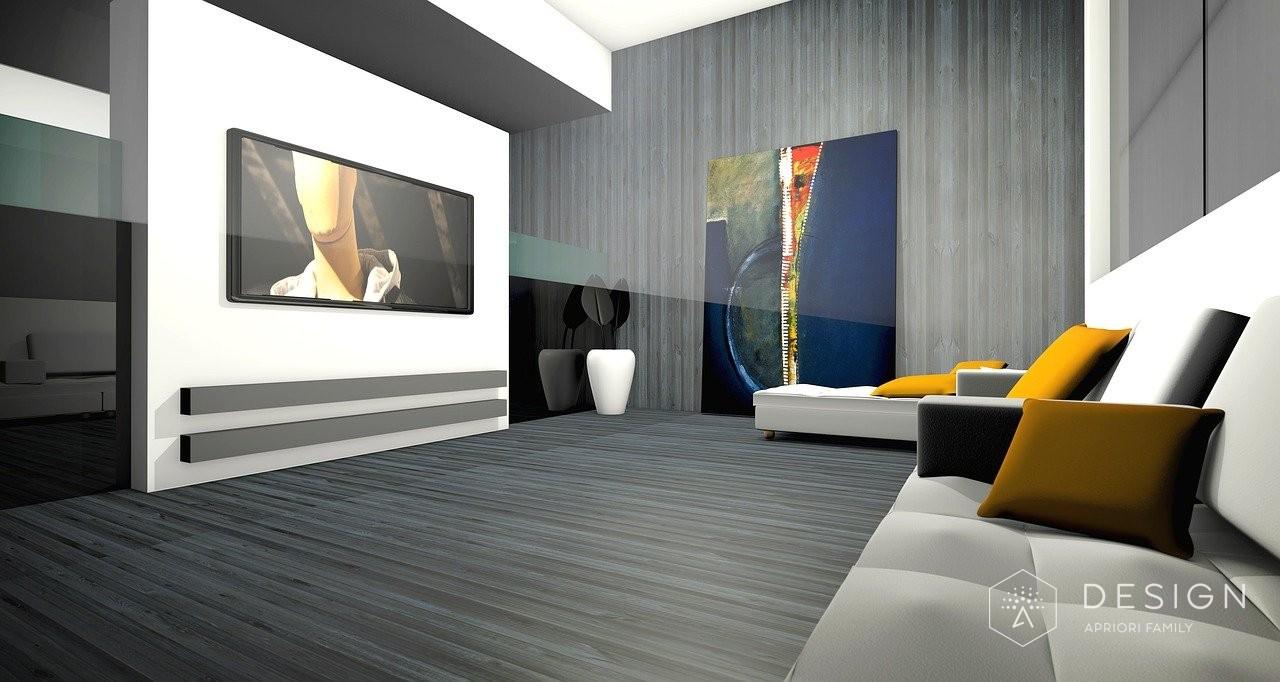 Дизайн интерьера в 3D модели