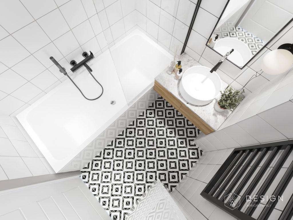 Дизайн светлой ванной комнаты