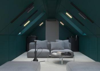 Дизайн интерьера гостиной и кальянной комнаты
