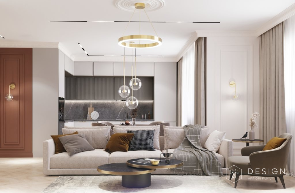Дизайн интерьера квартиры в Липецке