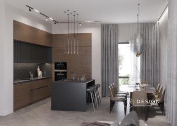 Дизайн интерьера частного дома в Рамони