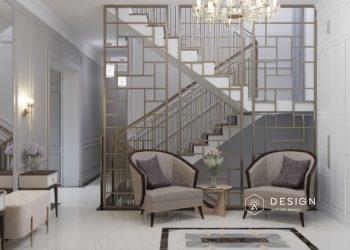 Дизайн гостиной и холла в Новой Усмани